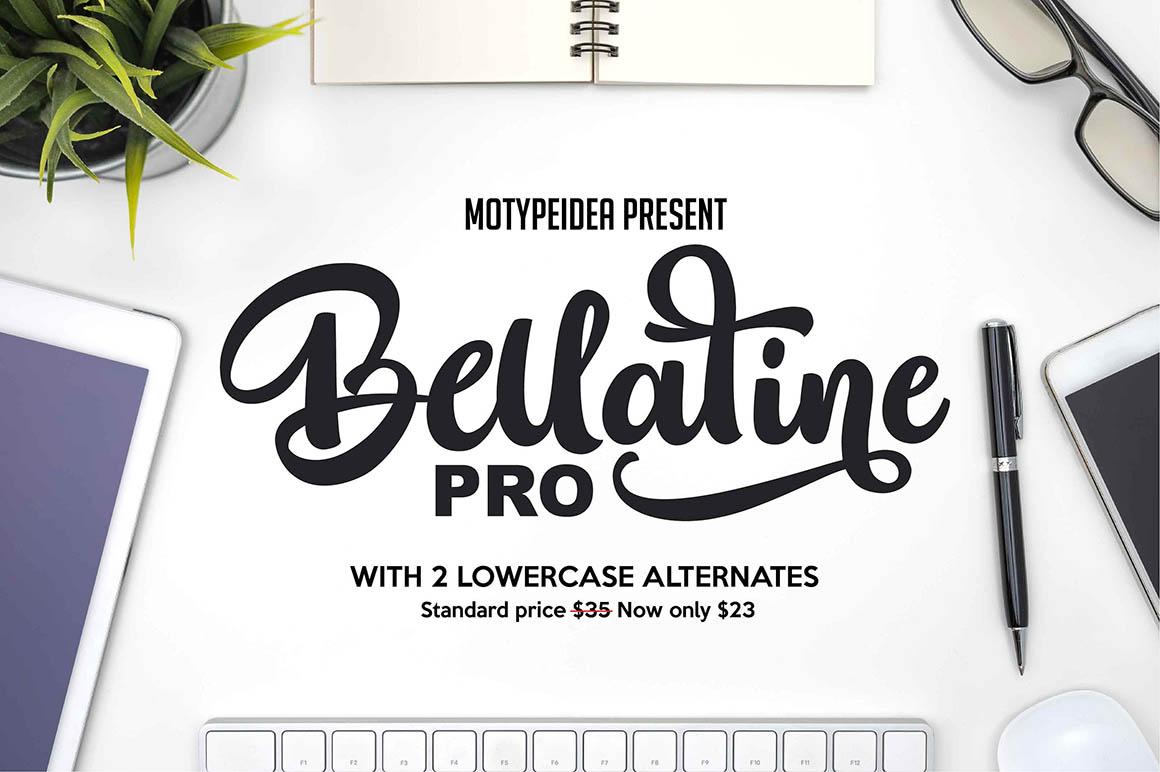 bellatine-free-script-font