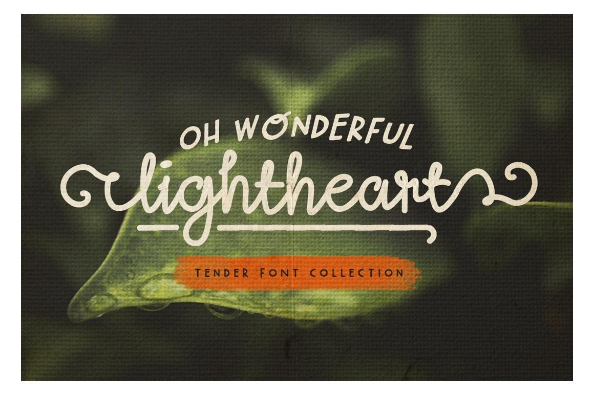 lightheart-font