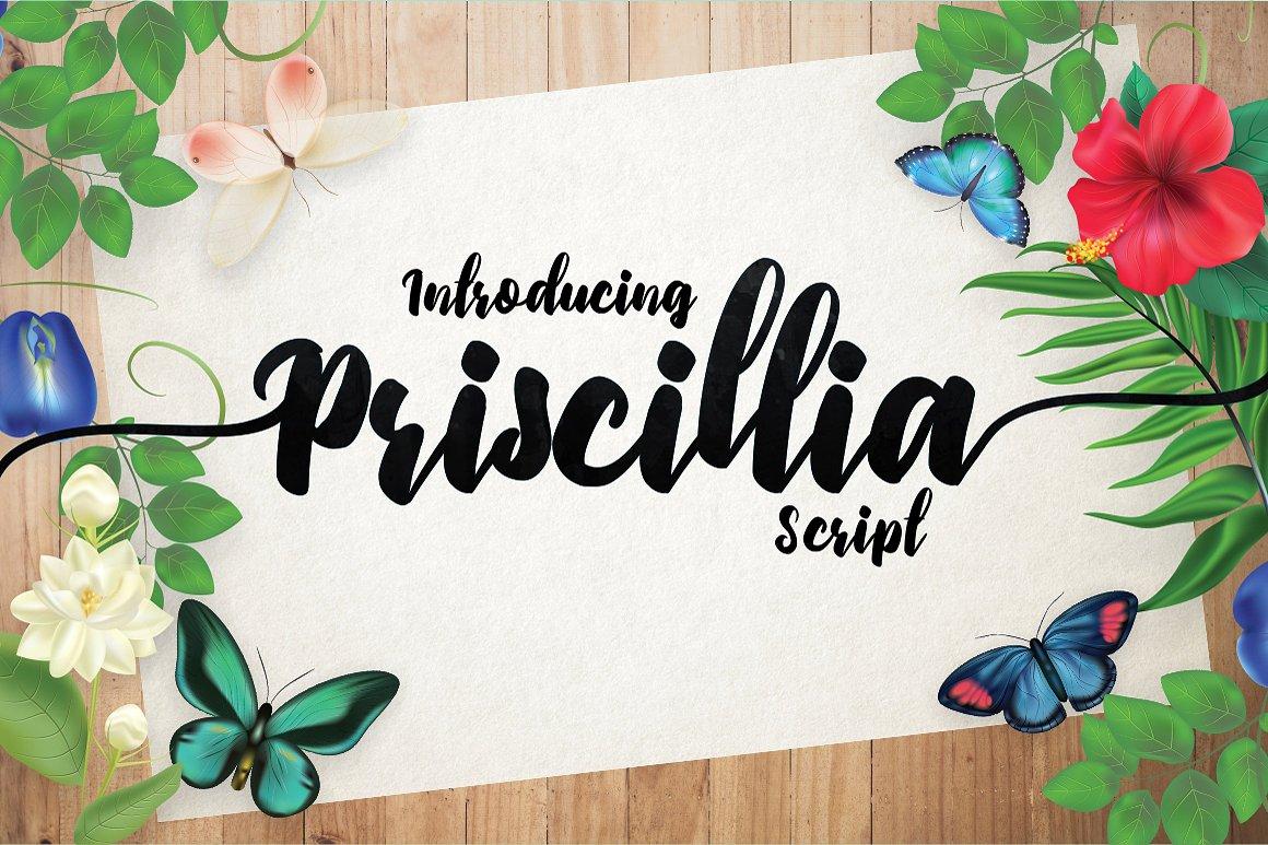priscillia-script