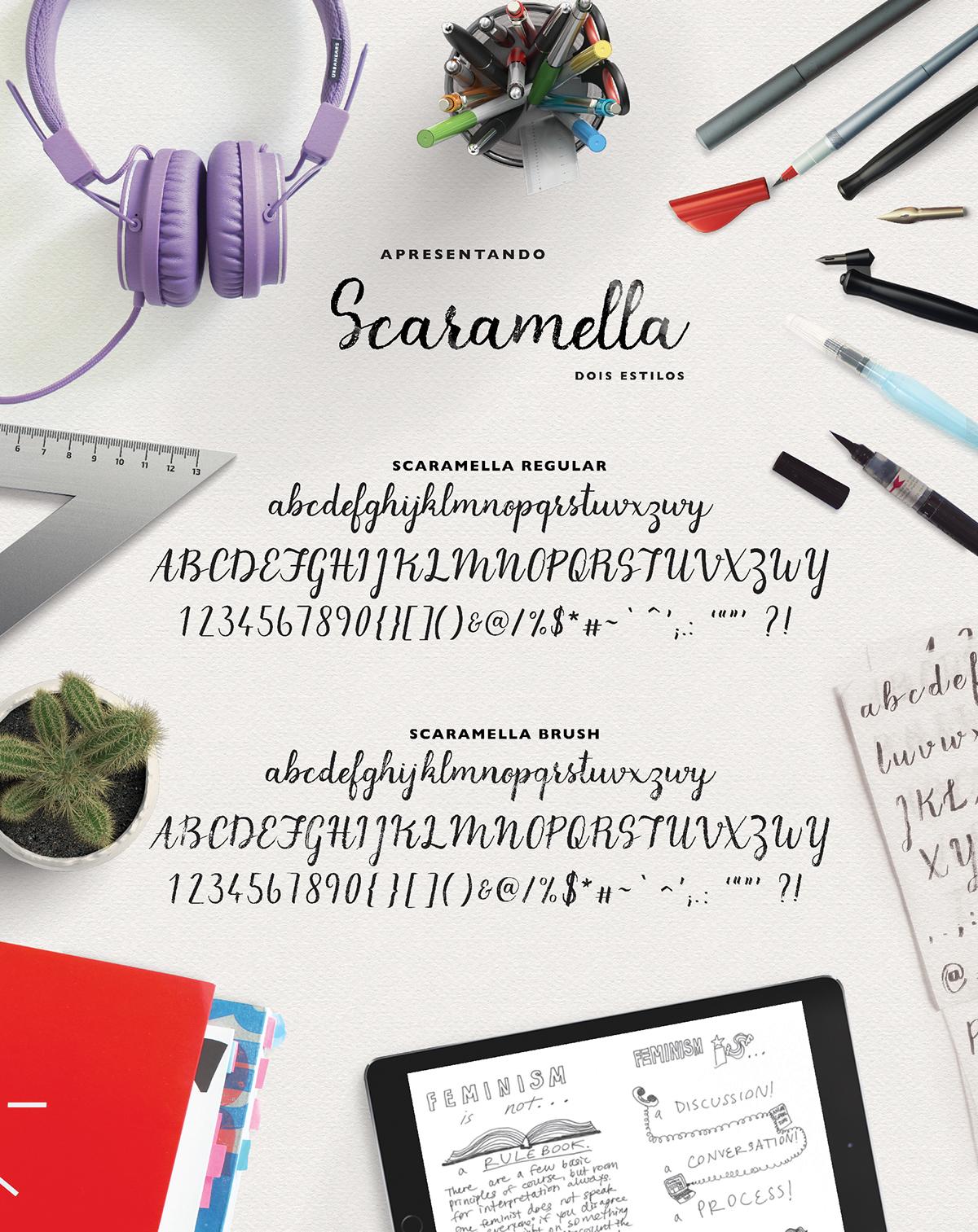 scaramella-script-font