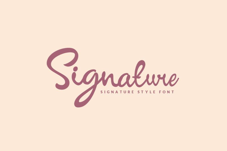 signature-script-font