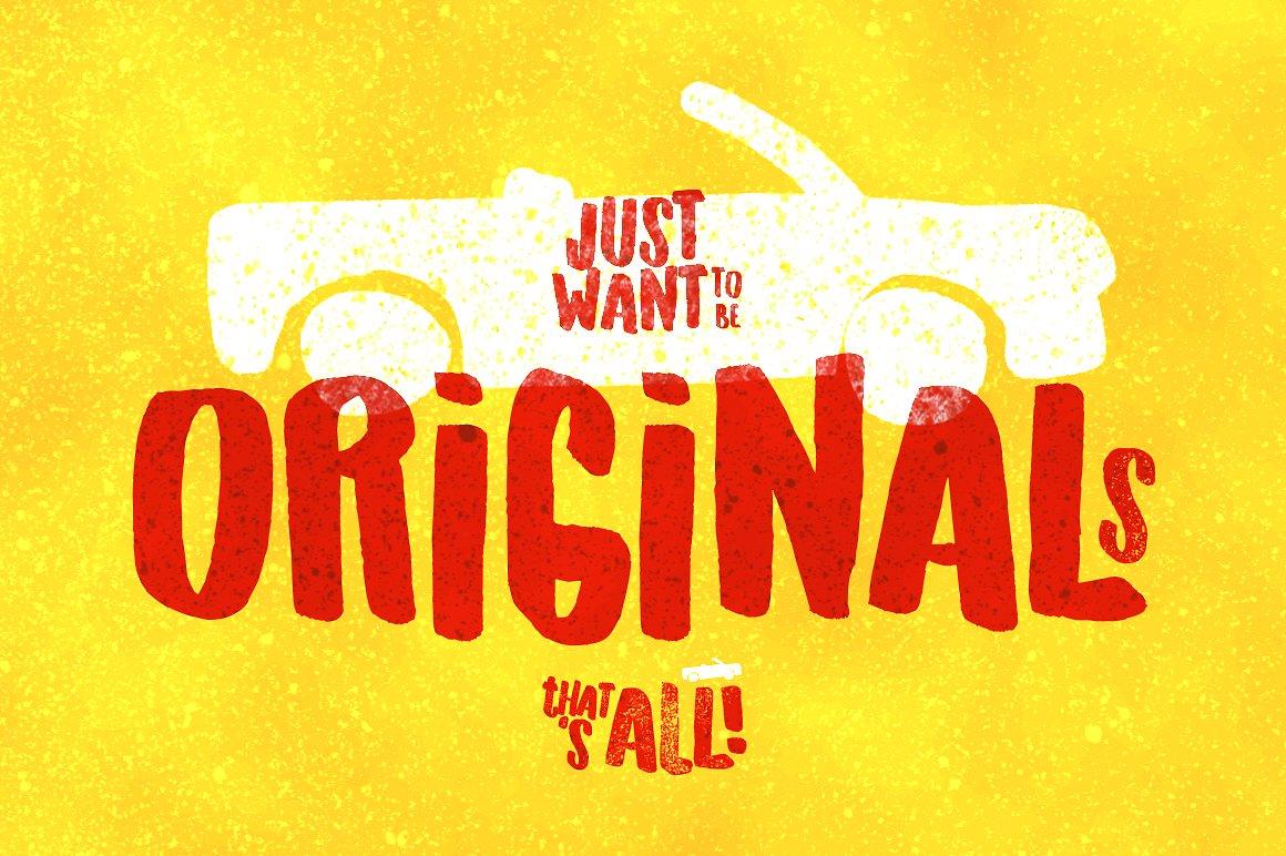 originals-typeface