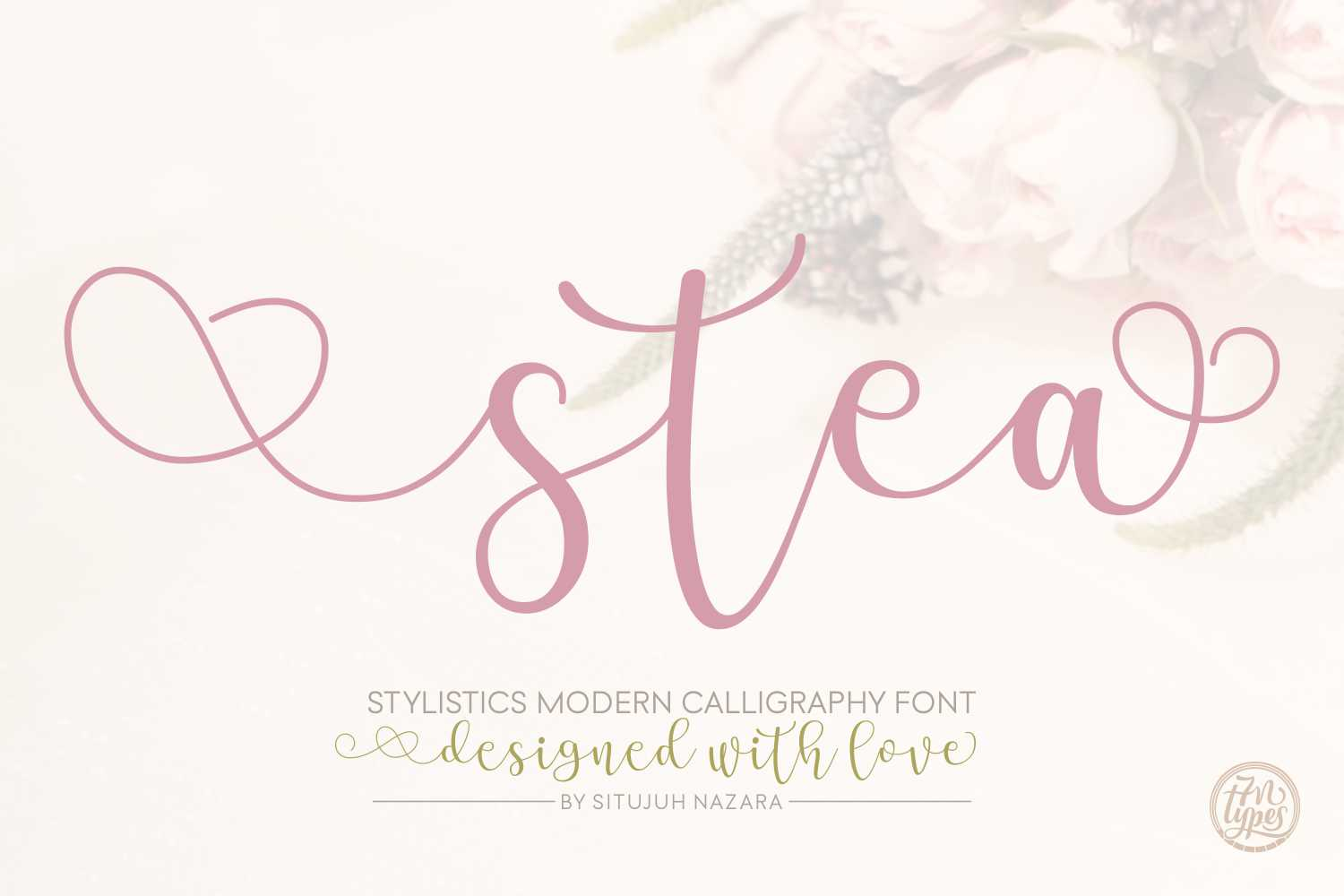 stea-calligraphy-font