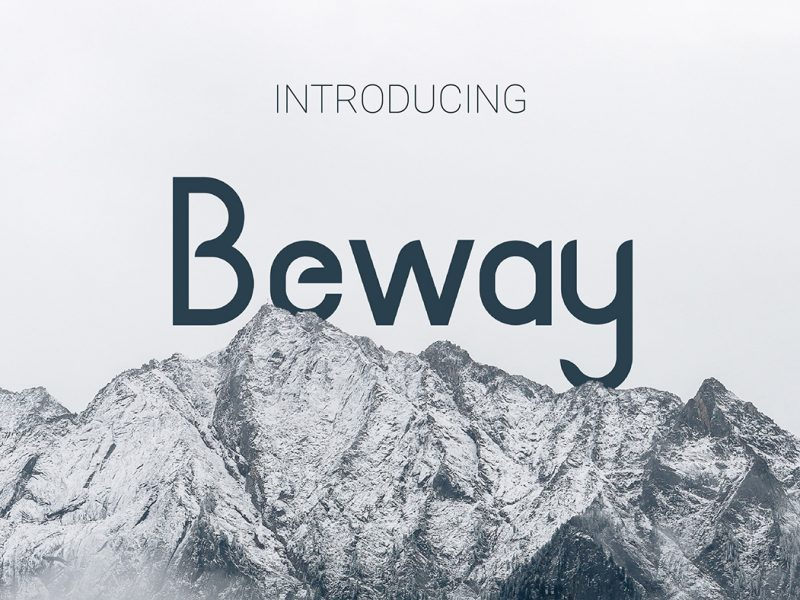 Beway-Typeface-800x600