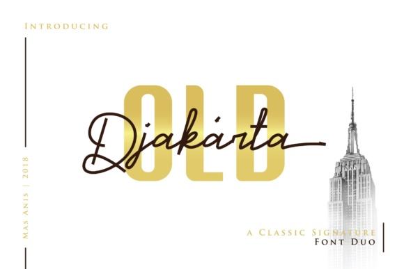 Old Djakarta Font