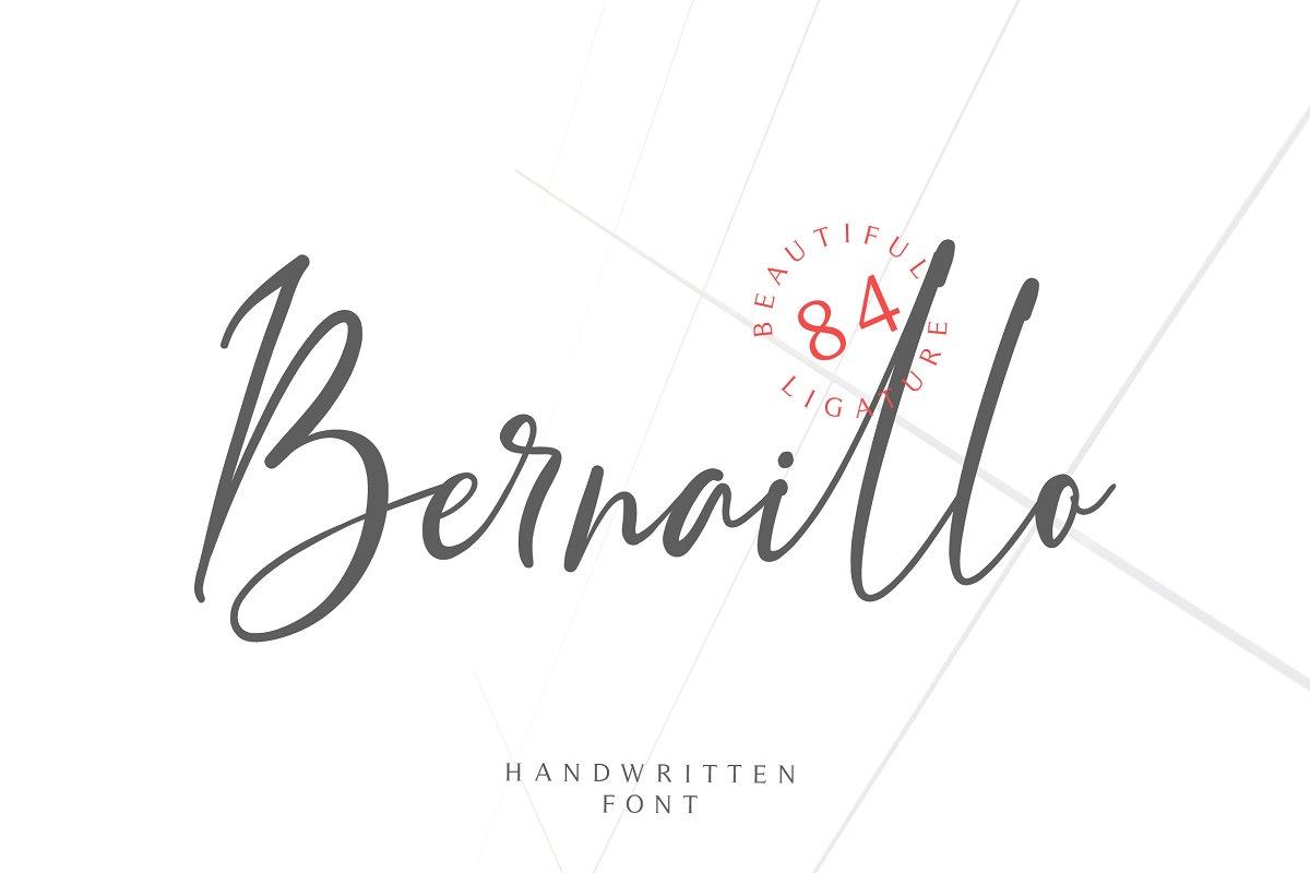 bernaillo-script-font