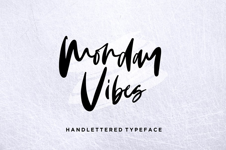 monday-vibes-handwritten-font