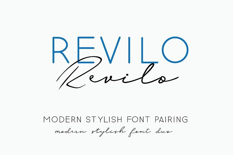 Revilo San Typeface