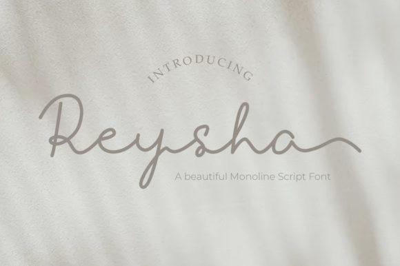 Reysha Script Font
