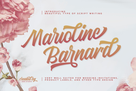 Marioline Barnard Script Font