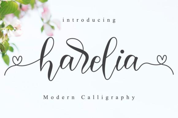 Harelia Script Font