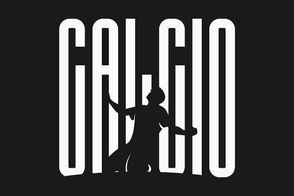 Calcio Ultra Condensed Font