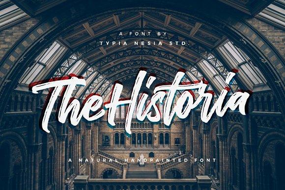 The Historia Urban Font