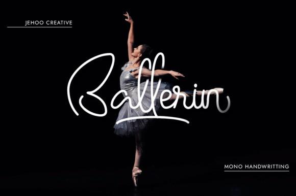Ballerin Handwritten Font